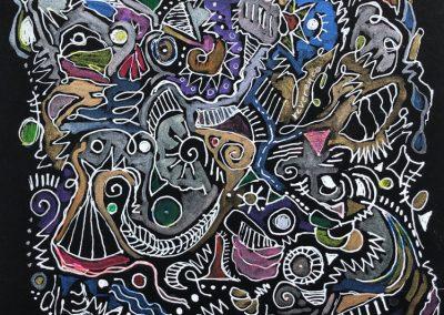 """Art by Renee Sandell entitled """"Reverence"""""""