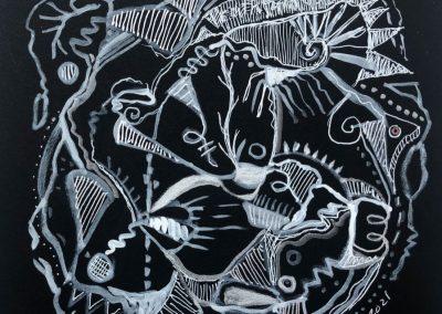 Art by Renee Sandell entitled Purity
